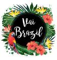 Aloha Party Brazil vector image vector image