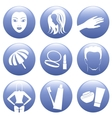 Cosmetic Icon Set vector image
