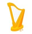 Harp icon cartoon style vector image