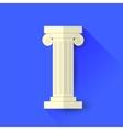 Single Greek Column vector image