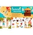 Travel icons Infographic with elements of vector image