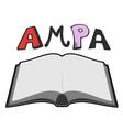 AMPA symbol vector image