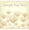 Stylized pastel card vector image vector image