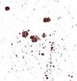 Full Page Grunge Splats 9 vector image