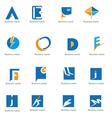 Symbols logo vector image