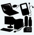 Computer equipment vector image