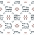Vintage airship seamless pattern Retro Dirigible vector image