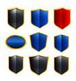 Metal Badges vector image