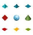 logo design elements set 17 vector image
