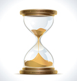 Old Hourglass vector image vector image