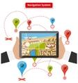 Navigation System vector image