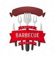 Emblem BBQ vector image