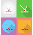 sport flat icons 12 vector image vector image