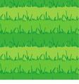 Seamless vegetation background Green grass vector image