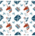 Scottish seamless pattern vector image