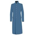 Blue coat vector image