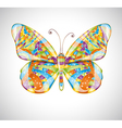 Beautiful abstract butterfly vector image vector image