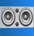 Loudspeaker Cabinet 1 vector image vector image