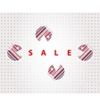 funny sale labels vector image vector image