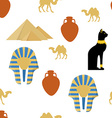 Egypt seamless pattern vector image