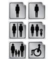 wc toilette vector image