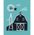 Farm Barn vector image