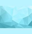 light blue triangle background design geometric vector image