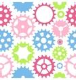 Machine Gear Wheel Cogwheel Seamless Pattern vector image vector image