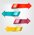 Set of info graphics banners vector image vector image