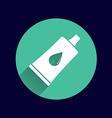 glue icon button logo symbol concept vector image