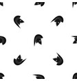Roman helmet pattern seamless black vector image
