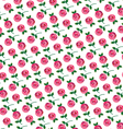 mod rose allover pattern vector image