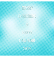 creative merry christmas background vector image