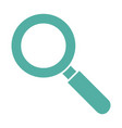 isolated magnifying glass vector image