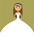 wedding inviation design vector image vector image
