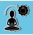 Healthy habits design vector image