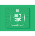 bakery banner vector image