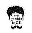 gentleman style vector image