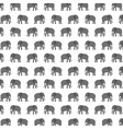 pattern elephant animal tender isolated icon vector image