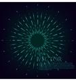 Starburst vector image