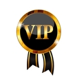VIP Members Label vector image