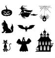 hallowen set vector image