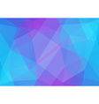 Colorful abstract polygonal background vector image