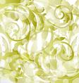 Floral ornamental background design elements vector image vector image