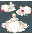 angel set vector image