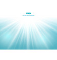 sunlight effect on blue background vector image