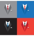 success leader concept businessman suit vector image