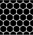 Hexagons latticed pattern vector image vector image