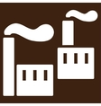 Industry icon from Business Bicolor Set vector image