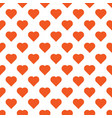 beautiful seamless pattern with orange vector image